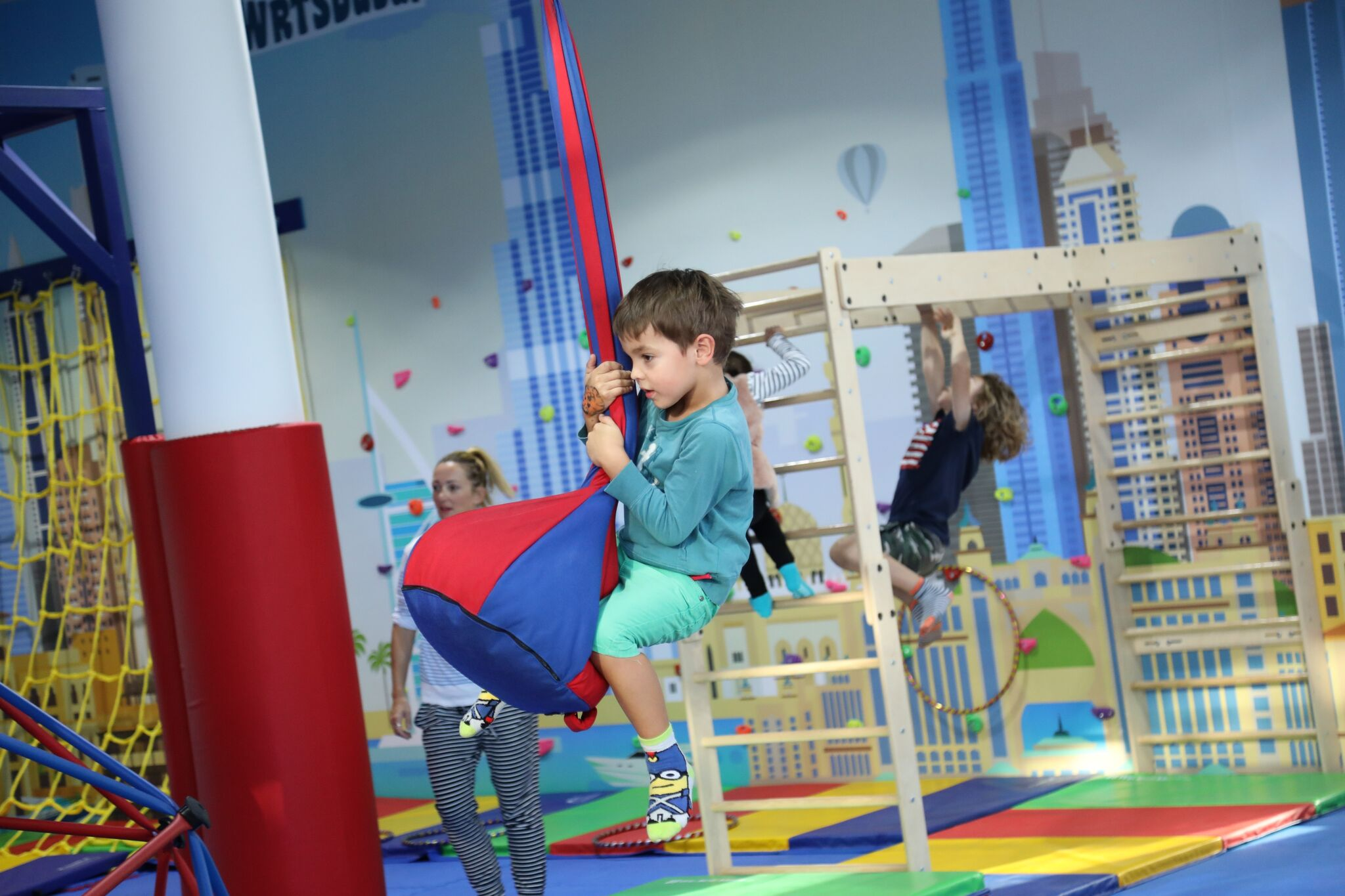 kids gym birthday party dubai