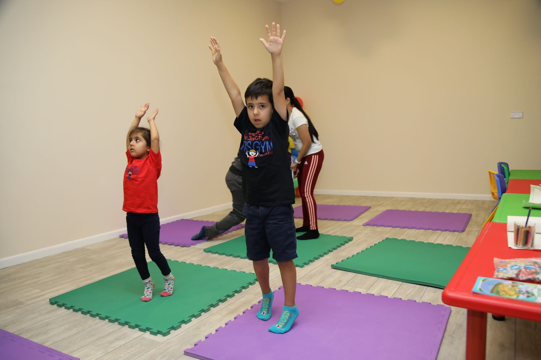 kids fitness gyms dubai
